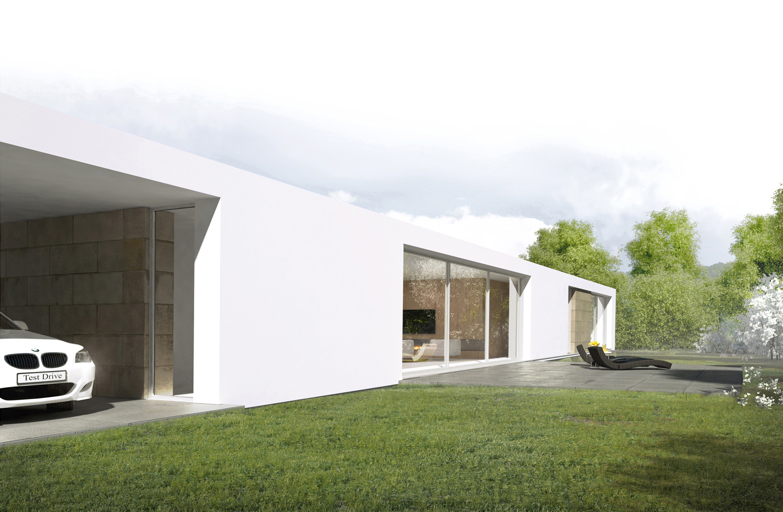 Дизайн интерьера частного дома. Вид сбоку 2