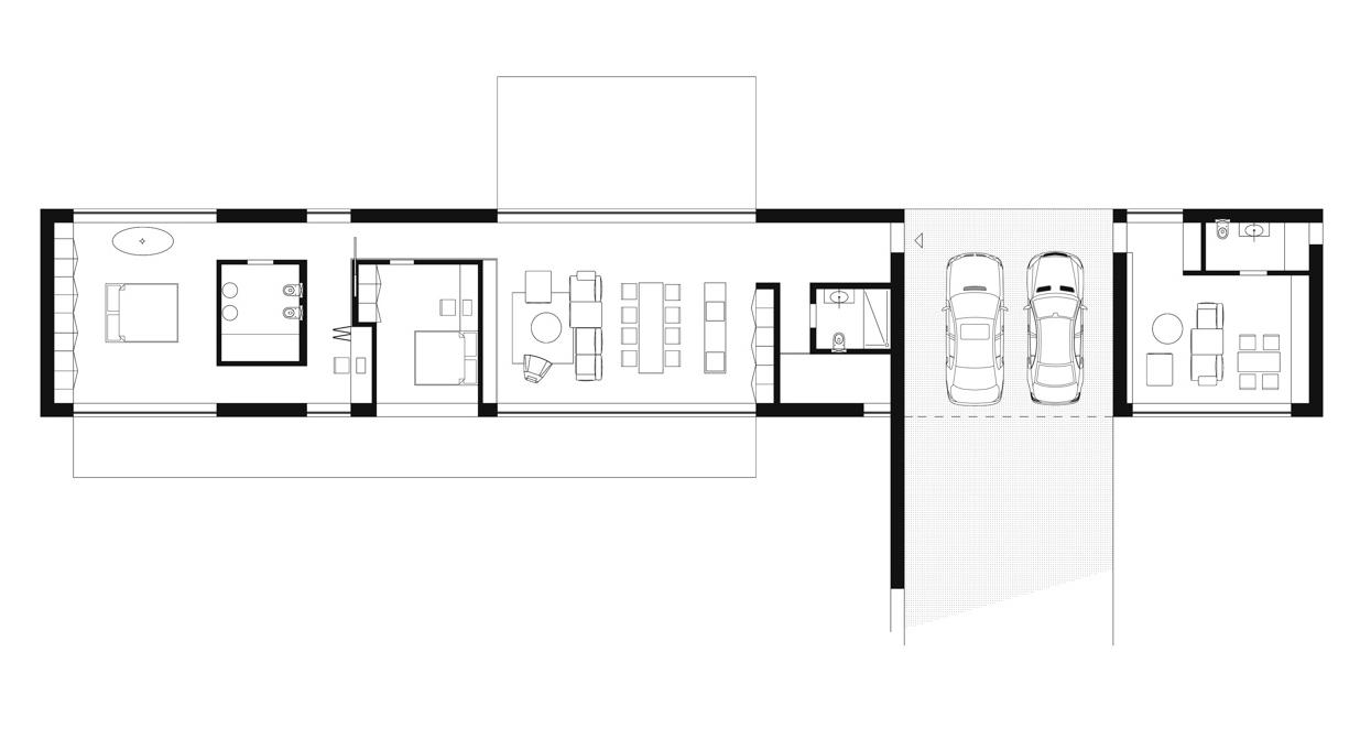 Дизайн проект интерьера коттеджа. План