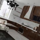Дизайн частного дома площадью 350 кв. м в селе Иванковичи, (авторы: Елена Романюк, Никита Борисенко)