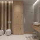 Дизайн двухкомнатной квартиры площадью 82 кв.м, пр. Победы, 121-б (авторы: Елена Романюк, Никита Борисенко)