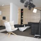Дизайн двухкомнатной квартиры площадью 80 кв.м, г.Киев, ул.Соломенская, 15 (авторы: Елена Романюк, Никита Борисенко)