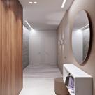Дизайн квартиры площадью 90 кв.м, ЖК Отдых, ул. Петрицкого, г. Киев (дизайнер Елена Романюк)