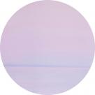 Картина маслом – Рассвет – диаметр - 1000 мм (автор – Елена Романюк)