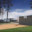 Проект японской бани в селе Вишенки, Киевская область (авторы: Елена Романюк, Никита Борисенко)